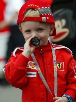 A young tifoso
