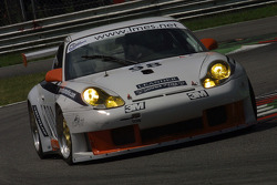 #98 James Watt Automotive Porsche 996 GT3 RS: Paul Daniels, Thierry Stepec