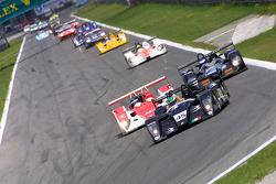 Start: #45 Lucchini Engineering Lucchini XV LMP2-Judd: Pier Giuseppe Peroni, Mirco Savoldi