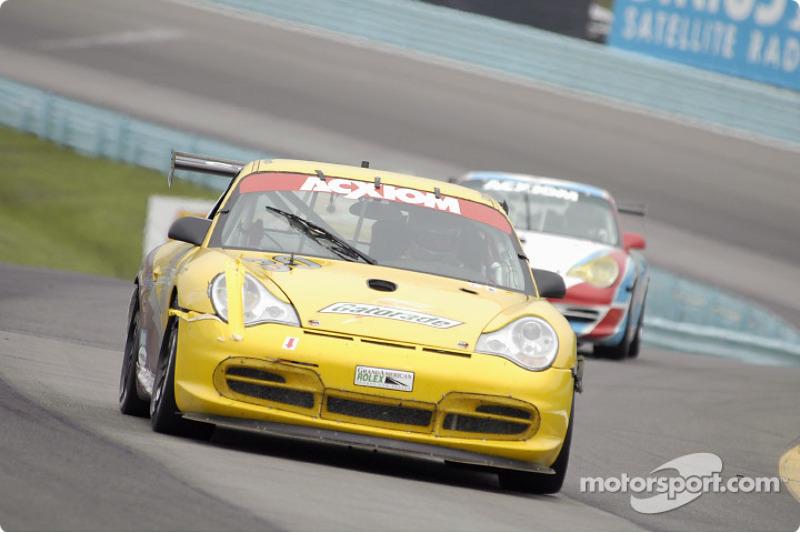 Alegra Motorsports Porsche GT3 Cup : Carlos de Quesada, Hugh Plumb, Catesby Jones