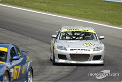 #66 SpeedSource Mazda RX-8: Marcelo Abello, Charles Espenlaub