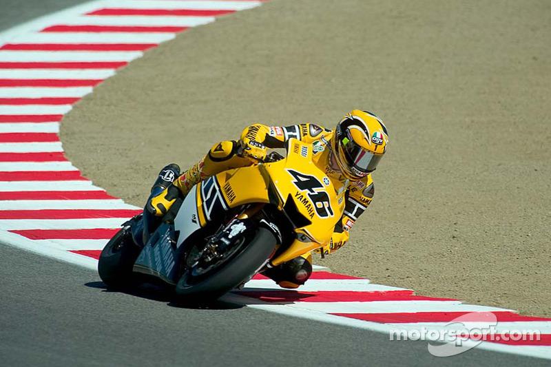 Gauloises Yamaha - Valentino Rossi - GP dgli Stati Uniti 2005