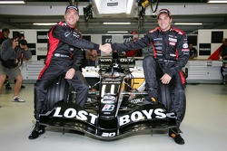 Robert Doornbos and Christijan Albers