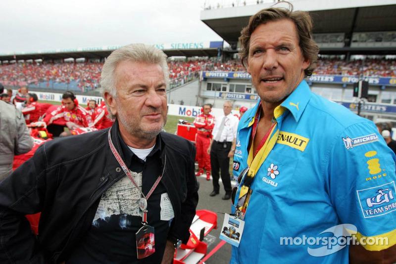 Willi Weber con el actor Ralf Möller