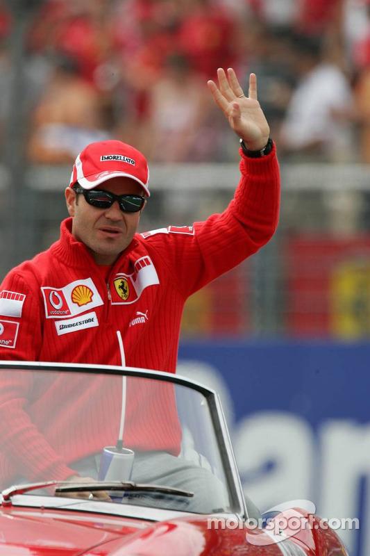 Presentación de pilotos: Rubens Barrichello