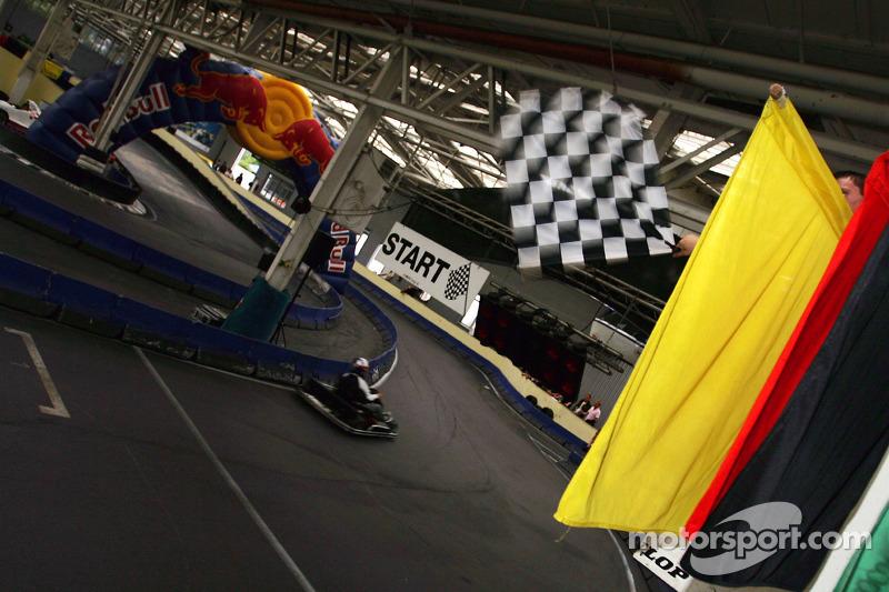 Red Bull Petit Prix en Manheim:  fin de la carrera