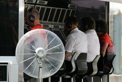McLaren pitwall