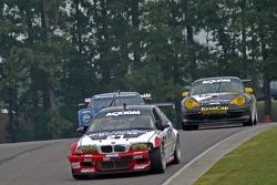 #21 Prototype Technology Group BMW M3: Bill Auberlen, Tom Milner, #14 Autometrics Motorsports Porsche GT3 Cup: Cory Friedman, Leh Keen