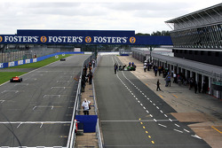 The main straight and the pit straight