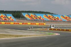 Grandstands at Istanbul Otodrom
