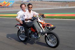 Vitantonio Liuzzi and Christian Horner