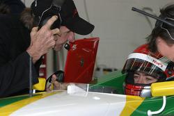 Emerson Fittipaldi and Joao Paolo Oliveira
