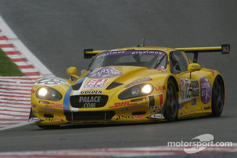 #105 Belgian Racing Gillet Vertigo: Bas Leinders, Renaud Kuppens, Jérôme D'Ambrosio, Sylvie Delcour