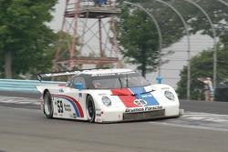 #59 Brumos Racing Porsche Fabcar: Hurley Haywood, JC France, Timo Bernhard