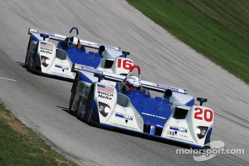 Dyson Racing Team Lola EX257 AER : Chris Dyson, Andy Wallace; Dyson Racing Team Lola EX257 AER : James Weaver, Butch Leitzinger