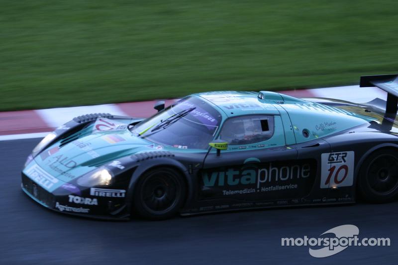 #10 Vitaphone Racing Team Maserati MC-12 GT1: Fabio Babini, Thomas Biagi, Jamie Davies
