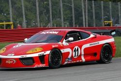 #11 JMB Racing USA Ferrari 360 Challenge: Matt Plumb, Ray Langston III
