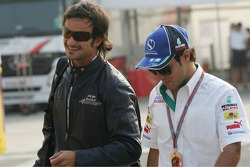 Vitantonio Liuzzi and Felipe Massa