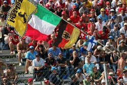 Monza fans ready for the race