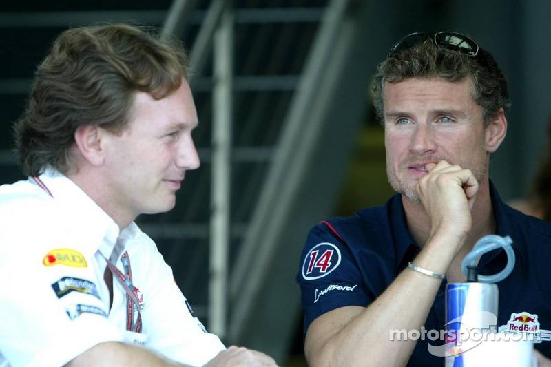 Christian Horner y David Coulthard