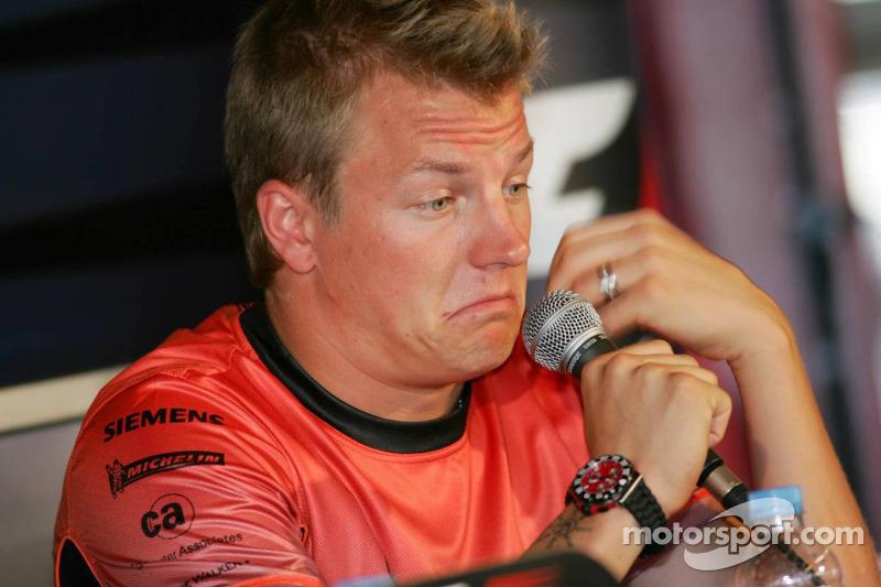 Conferencia de prensa FIA: Kimi Raikkonen