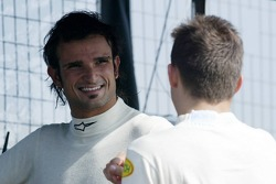 Vitantonio Liuzzi and Christian Klien