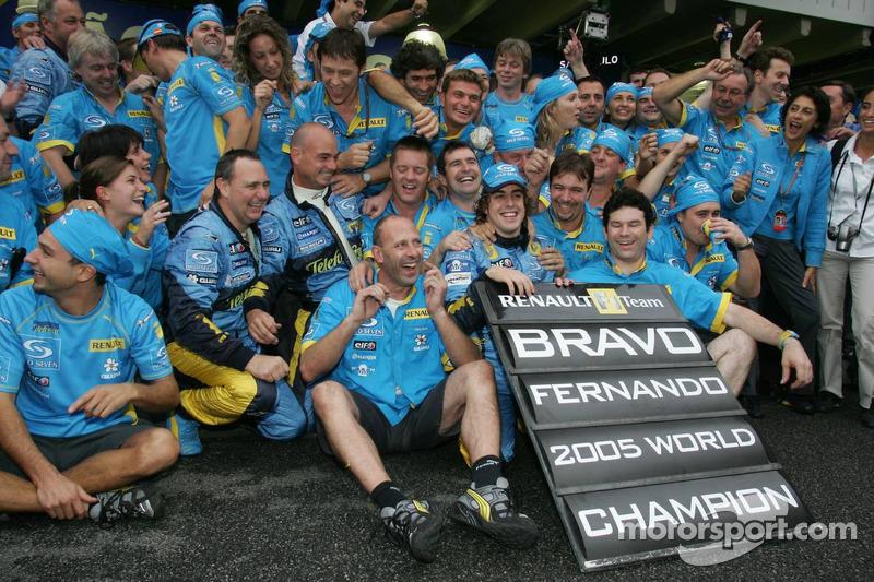 No dia 25 de setembro de 2005, há 12 anos, Alonso conquistava seu primeiro título na F1.