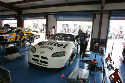 Ryan Newman back in the garage