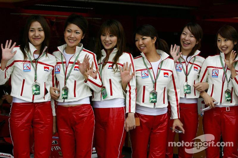 Chicas japonesas