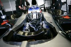 Kimi Raikkonen about to go to the starting grid