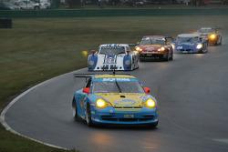 #05 Sigalsport Porsche GT3 Cup: Gene Sigal, Matthew Alhadeff, #15 CB Motorsports Pontiac Riley: Chri