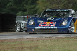 #58 Red Bull/ Brumos Racing Porsche Fabcar: David Donohue, Darren Law, #05 Sigalsport Porsche GT3 Cup: Gene Sigal, Matthew Alhadeff