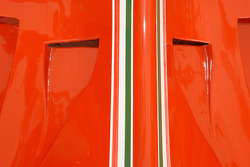 Engine cover of the 1980 Ferrari 312 T5