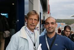 Football coach Christoph Daun and comedian Django Asül