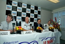 Press Conference for Porsche Penske and DHL