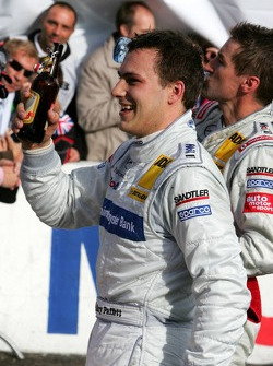 DTM 2005 champion Gary Paffett enjoys his own beer