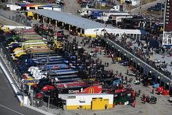 Le garage NASCAR Cup