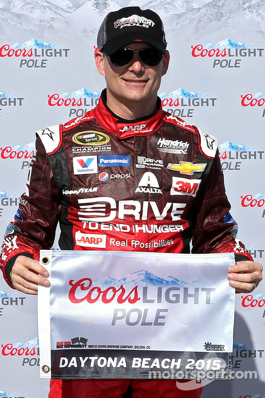 Pole Jeff Gordon, Hendrick Motorsports Chevrolet