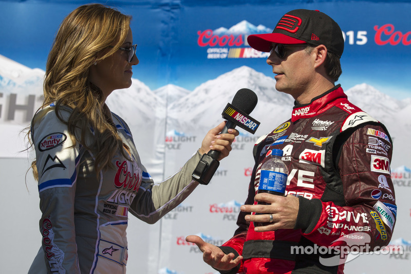 Pole-Sitter: Jeff Gordon, Hendrick Motorsports, Chevrolet, mit Miss Coors,Light