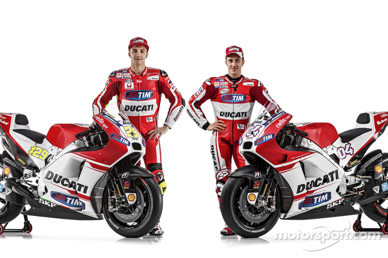 2015 - Andrea Iannone et Andrea Dovizioso