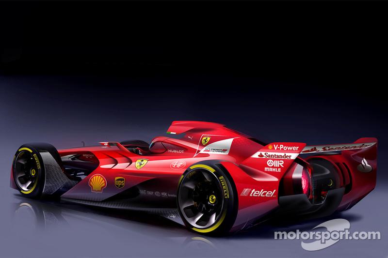 Designstudie von Ferrari