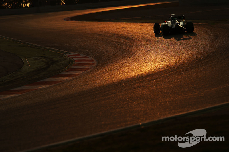 Pascal Wehrlein, Mercedes AMG F1 W06, Ersatzfahrer