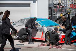 Das Auto von Tony Stewart wird neu aufgebaut