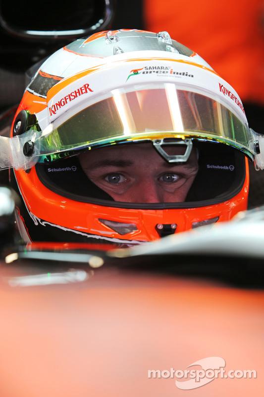 نيكو هلكنبرغ، سهارا فورس إنديا للفورمولا 1 على متن سيارة في جيه أم 07