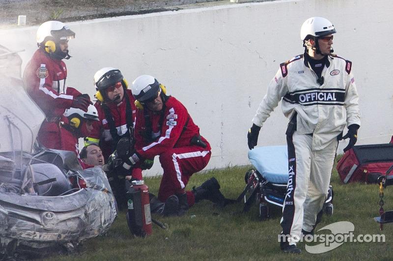 Daytona 2015: Kyle Busch schwer verletzt