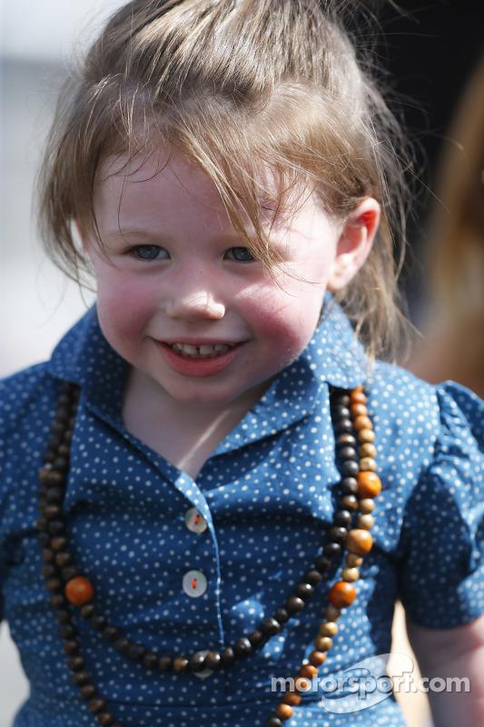 Taylor Hamlin, filha de Denny Hamlin
