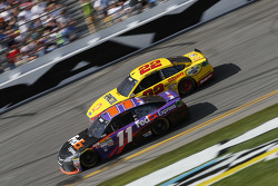 Denny Hamlin, Joe Gibbs Racing 丰田, Joey Logano, Team Penske 福特
