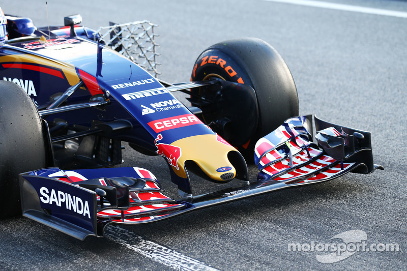 Carlos Sainz jr., Scuderia Toro Rosso STR10, Frontflügel