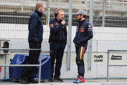 Carlos Sainz jr., Scuderia Toro Rosso (rechts)