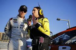 Carl Edwards, Joe Gibbs Racing, Toyota, mit Miss Sprint Cup